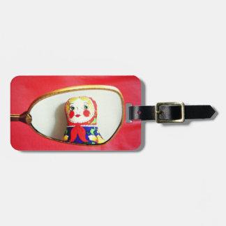 Daria matryoshka doll luggage tag, Russian Doll Luggage Tag