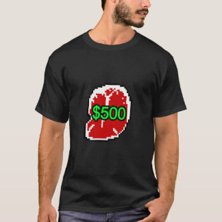 Dark $500 Steak Tee