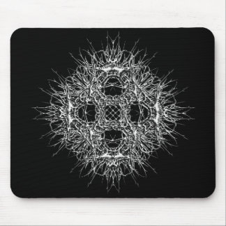 dark 666 mouse pad