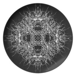 dark 666 plate