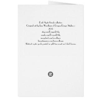 Dark Agate Geode collection Card