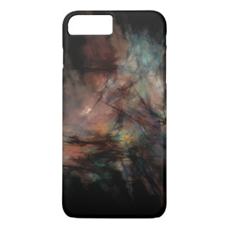 Dark and Gritty Abstract Black Clouds iPhone 7 Plus Case
