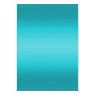 Dark and Light Aqua Blue Gradient - Turquoise Business Card