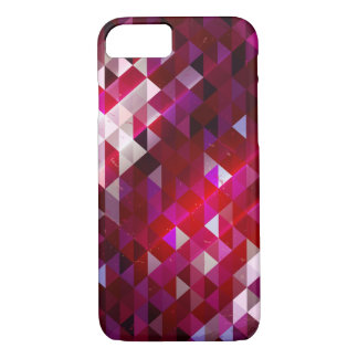 Dark and Light Polygon Pattern iPhone 7 Case