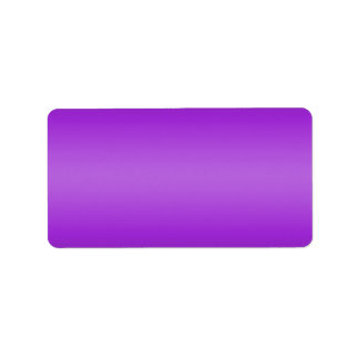 Dark and Light Purple Gradient - Violet Template Address Label