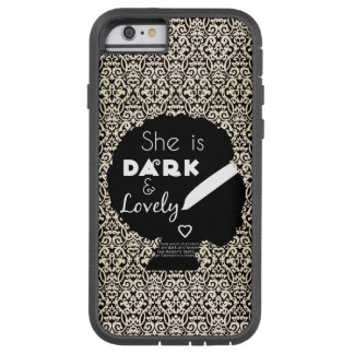 Dark and Lovely with Christian Scripture Tough Xtreme iPhone 6 Case