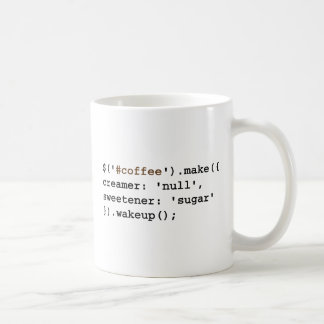 Dark and Sweet Javascript Coffee Mug
