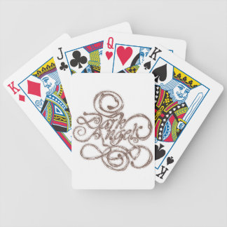 Dark Angel Bicycle Playing Cards