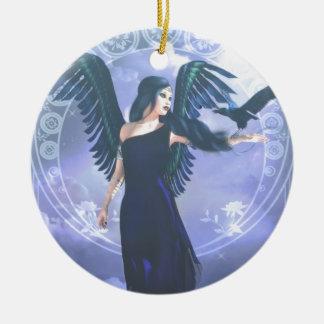 Dark Angel Ceramic Ornament