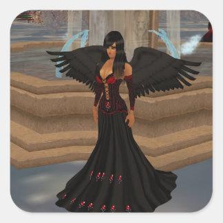 Dark Angel Love Stickers