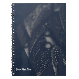 Dark Angel Wings Gothic Glam Personalized Notebooks