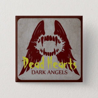 Dark Angels - Dead Hearts Novels 15 Cm Square Badge