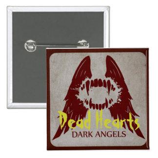 Dark Angels - Dead Hearts Novels 15 Cm Square Badge