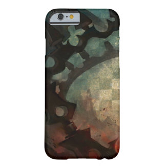 Dark Anime Watercolor Grunge Collage iPhone Barely There iPhone 6 Case