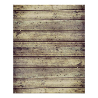 Dark Antiqued Planked Wood Scrapbook Paper