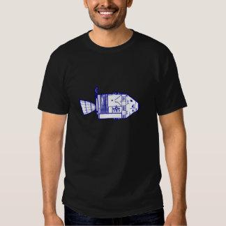 """Dark """"APOLLO CM/PLAQUE"""" T-Shirt"""