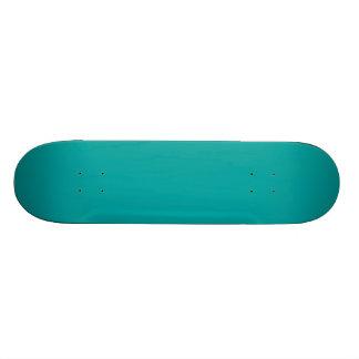 Dark Aqua Blue Green Fashion Color Trend Customize Skate Board Decks