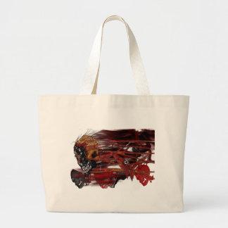 dark art skull bags