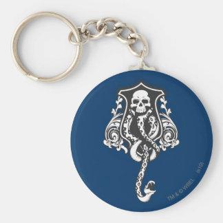 Dark Arts Basic Round Button Key Ring