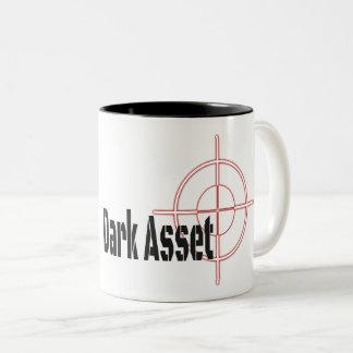 Dark-Asset Two-Tone Coffee Mug