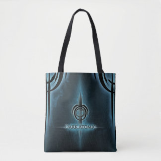 Dark Atomic Tote Bag