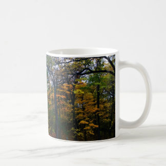 Dark Autumn Colors Coffee Mug