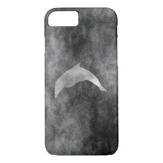Dark Black Dolphin iPhone 7 Case