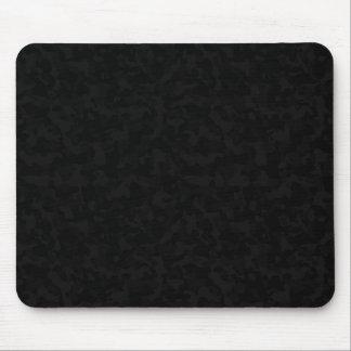 Dark black urban camo mousemat