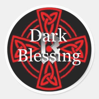 Dark Blessing Logo XIII Round Sticker