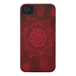 Dark Blood Mehndi iPhone 4 Cover