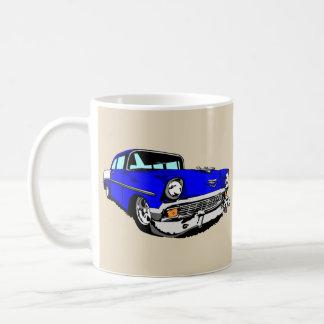 Dark Blue 57 Bel Air Coffee Mug