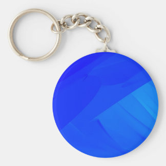 Dark Blue Backdrop Basic Round Button Key Ring