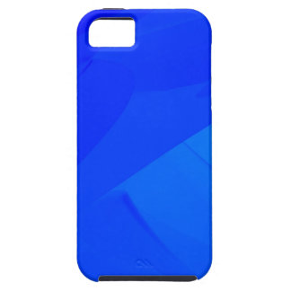Dark Blue Backdrop Tough iPhone 5 Case