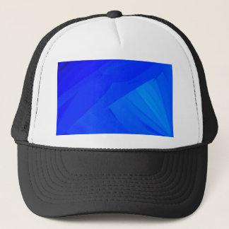 Dark Blue Backdrop Trucker Hat