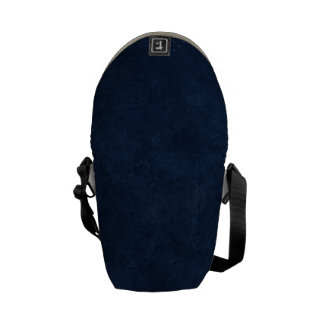 Dark Blue Circle Corner Courier Bags