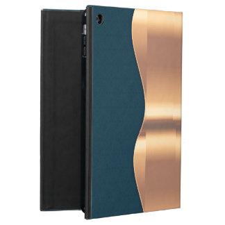 Dark Blue Copper iPad Air Cover