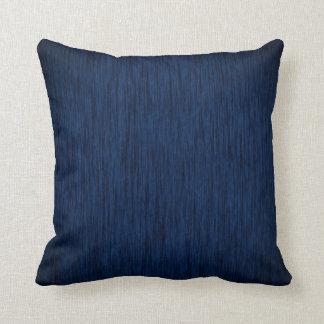 Dark Blue Design Background Cushion