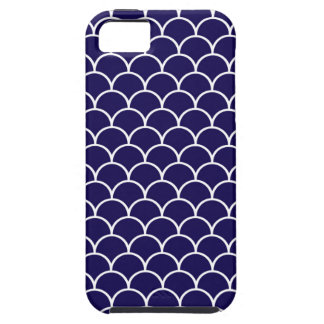 Dark Blue Dragon Scales Case For The iPhone 5