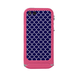 Dark Blue Dragon Scales Incipio ATLAS ID™ iPhone 5 Case