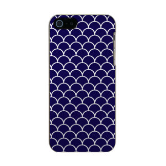 Dark Blue Dragon Scales Incipio Feather® Shine iPhone 5 Case
