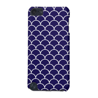 Dark Blue Dragon Scales iPod Touch (5th Generation) Cases