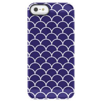 Dark Blue Dragon Scales Permafrost® iPhone SE/5/5s Case
