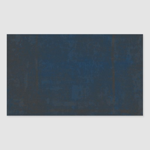 DARK BLUE EMO INSECT GRUNGE  BACKGROUND TEMPLATE T RECTANGULAR STICKER