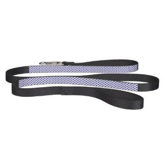 Dark Blue Football Pattern Dog Leash