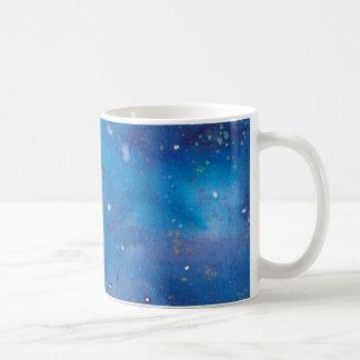 Dark Blue Galaxy Coffee Mug