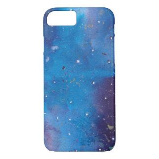 Dark Blue Galaxy iPhone 8/7 Case