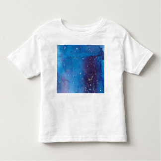 Dark Blue Galaxy Toddler T-Shirt