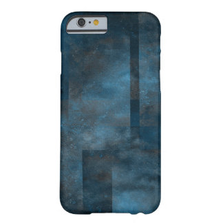 dark blue grungy texture art barely there iPhone 6 case