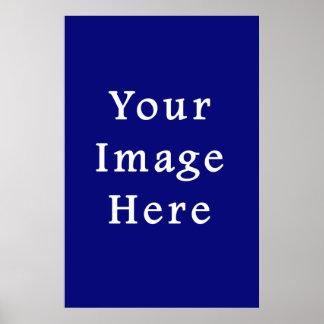 Dark Blue Hanukkah Chanukah Hanukah Template Poster