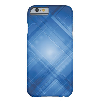 Dark blue hi-tech background barely there iPhone 6 case